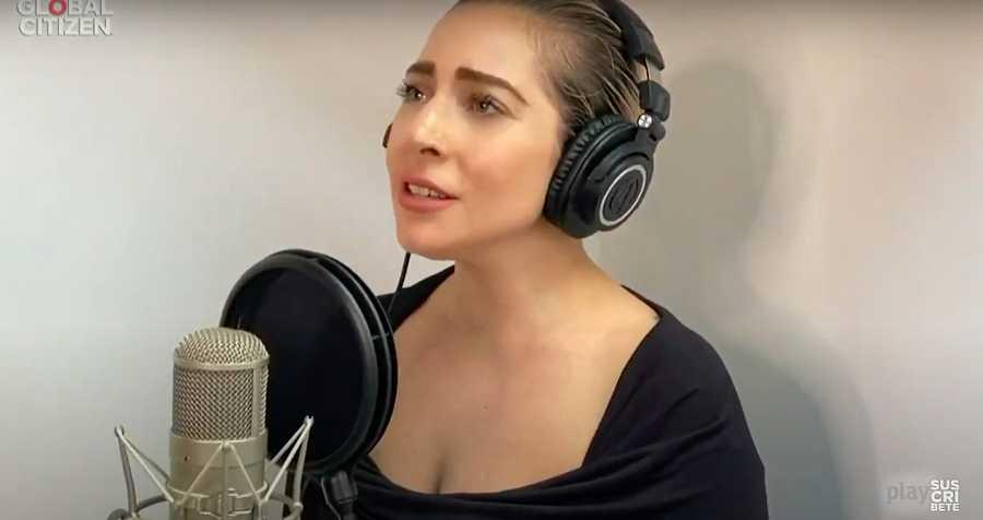 Lady Gaga se une a Celine Dion, Andrea Bocelli y otros artistas en la canción de cierre de la gala