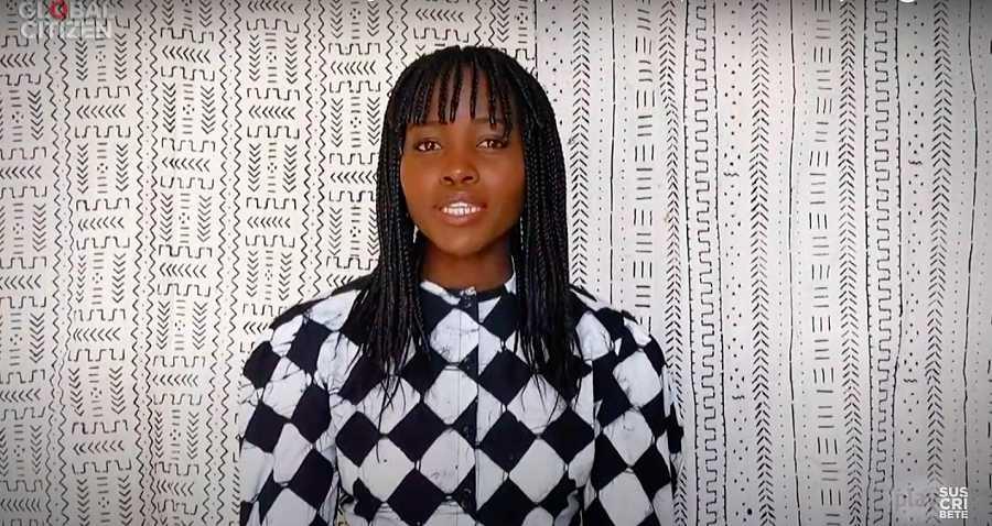 Lupita Nyong'o recordó con seriedad la riqueza y la diversidad de los países de África