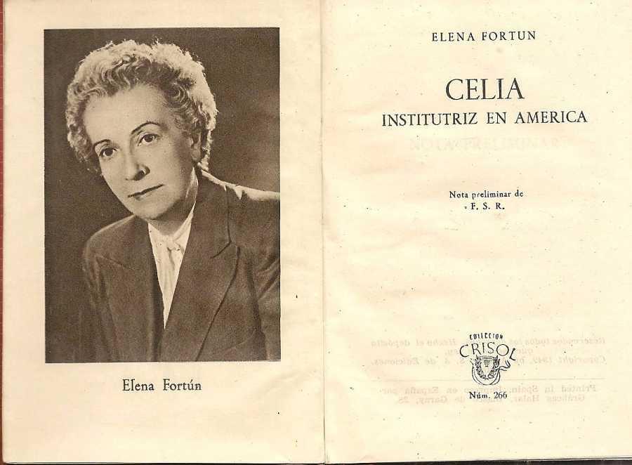 Elena Fortún, autora de la serie