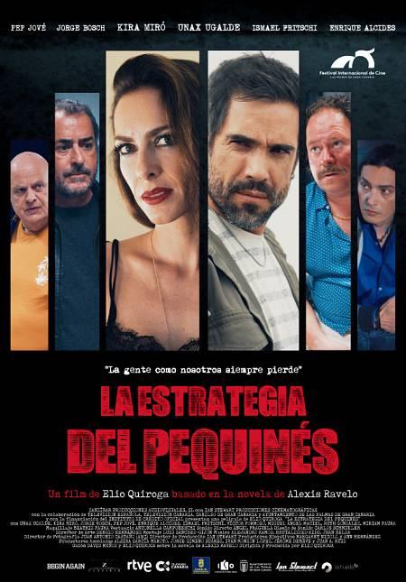 Cartel de la película, una thriller ambientado en Canarias