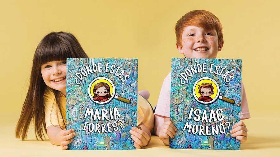 Distintas editoriales ofrecen la opción de personalizar libros para los niños