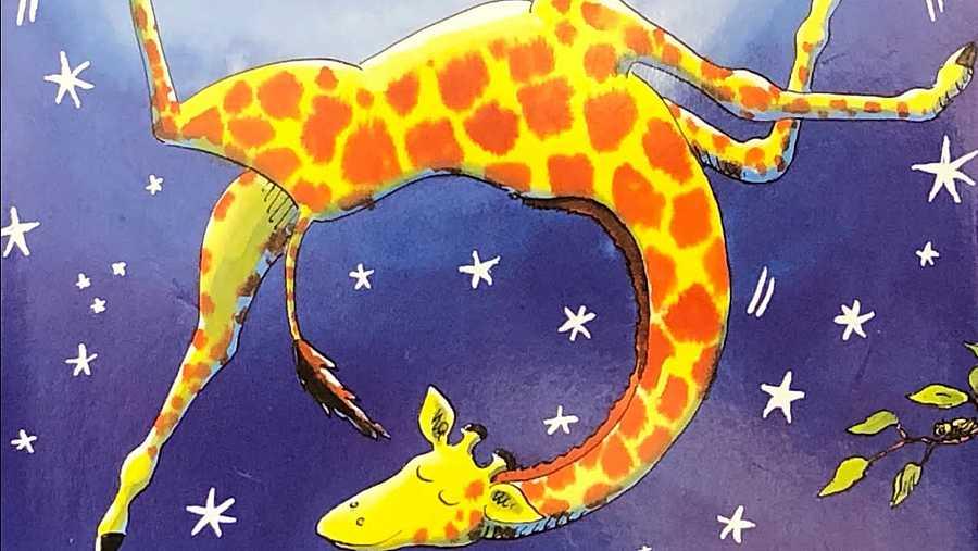Ilustración del cuento 'Las jirafas no saben bailar'