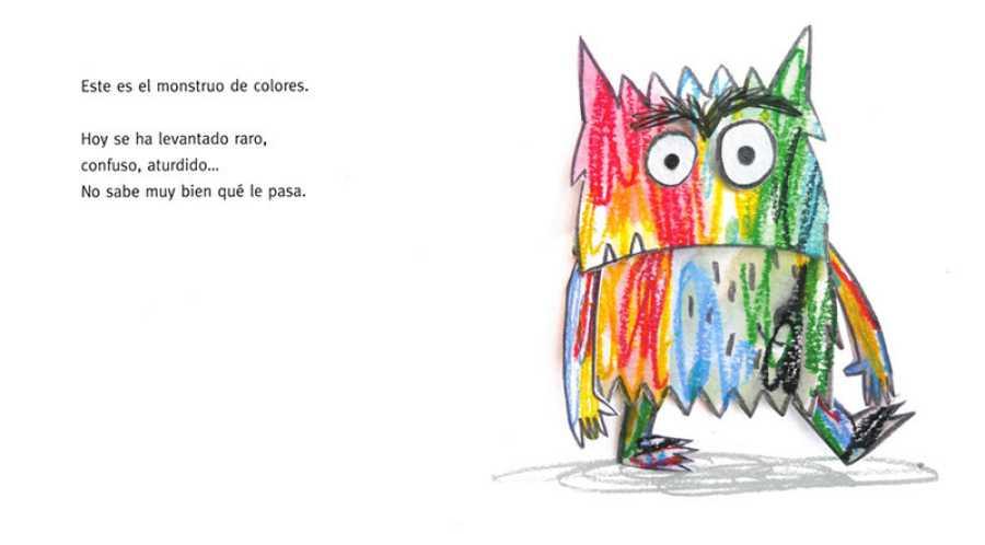 Los niños aprenden a identificar sus emociones con el Monstruo de Colores