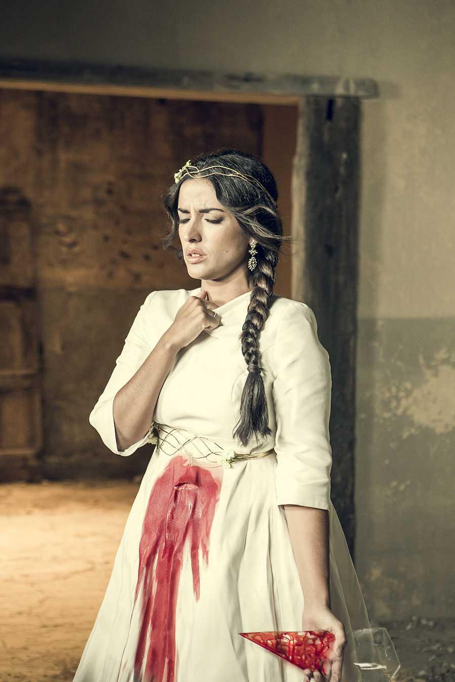 Inma Cuesta en el papel de la novia lorquiana de 'Bodas de sangre'
