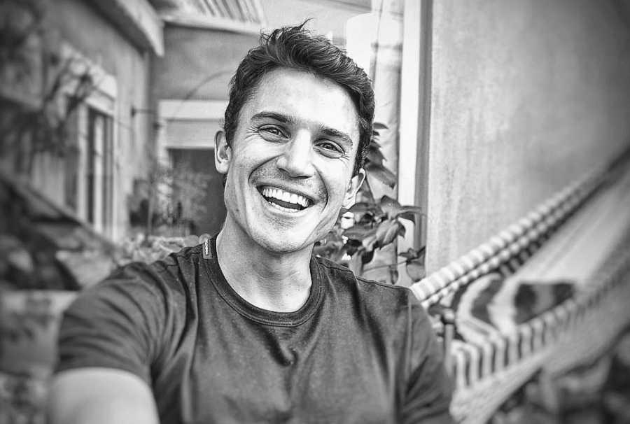 El actor Álex González, amigo de Javier Cámara