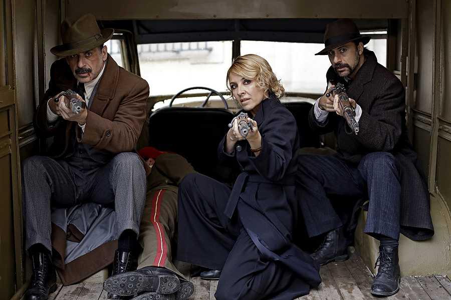 Alonso, Irene y Pacino