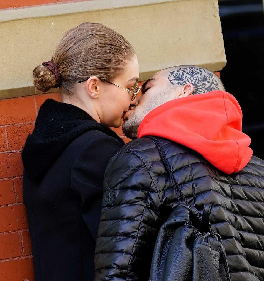 Zayn Malik y Gigi Hadid se besan en las calles de Nueva York