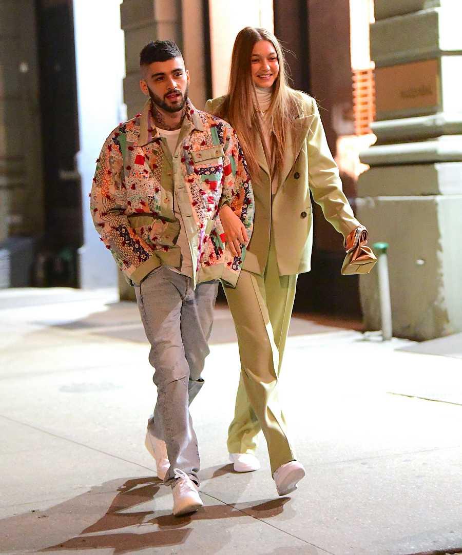 Zayn Malik y Gigi Hadid pasean por las calles de Nueva York