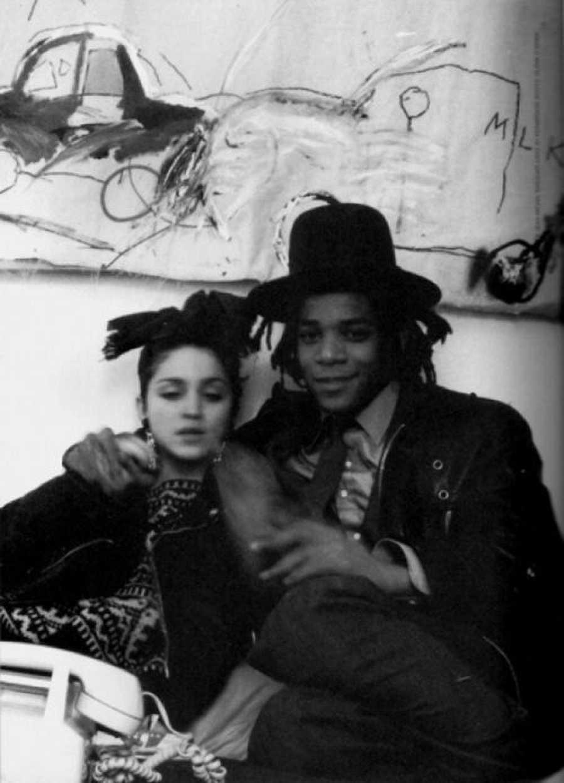 Madonna junto a Jean-Michel Bas
