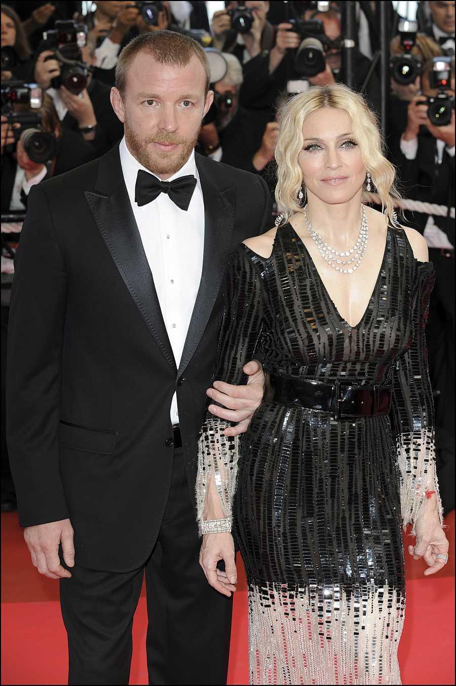 Madonna y Guy Ritchie en la 61ª Edición del Festival de Cannes