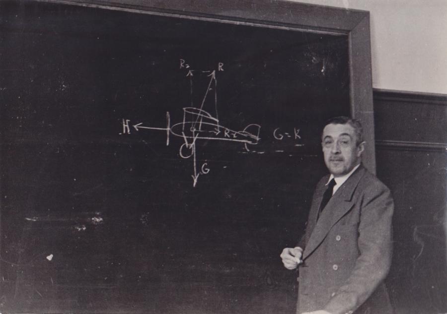 Emilio Herrera, ingeniero aeronáutico
