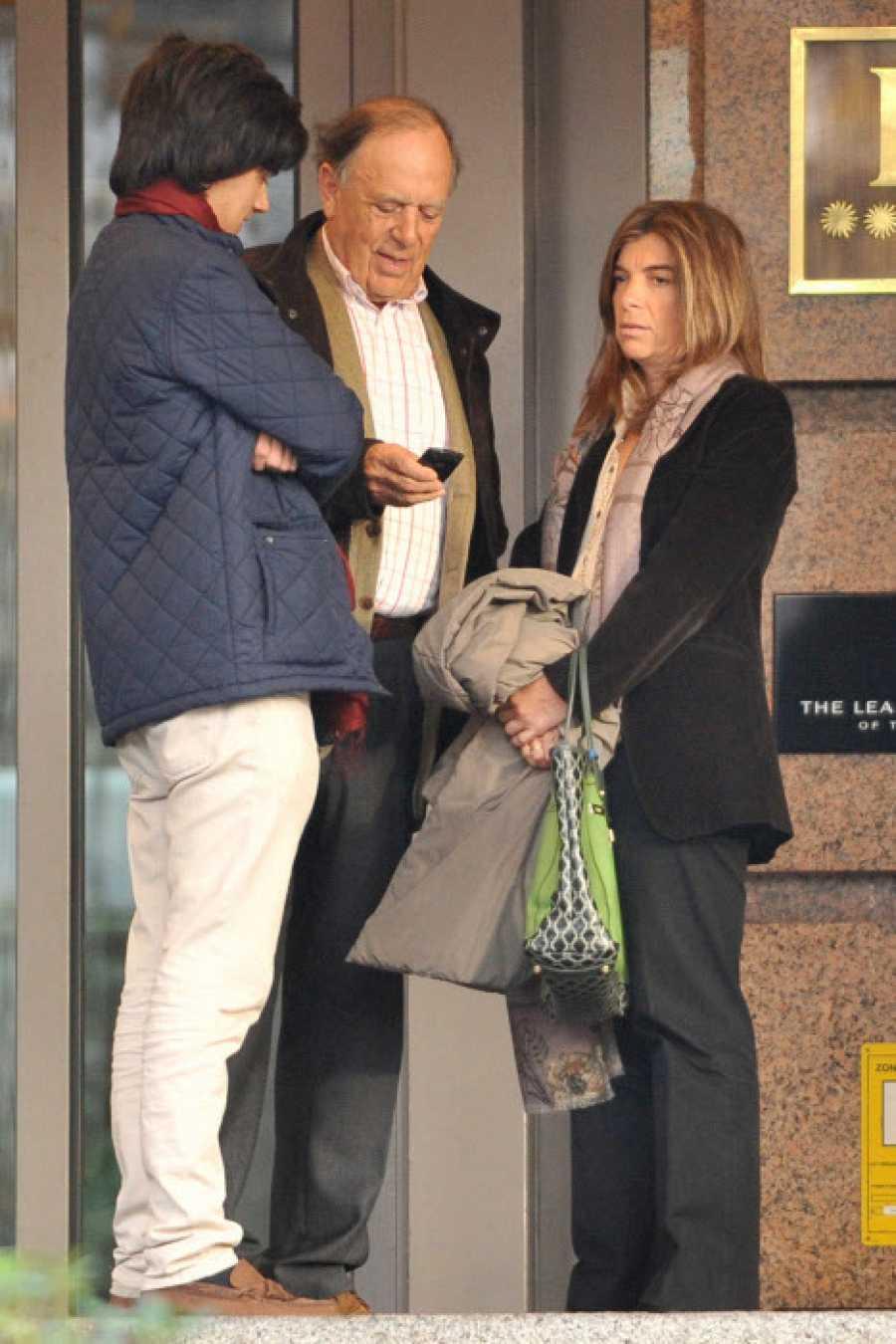 Carlos Falcó con sus hijos, Manuel y Xandra