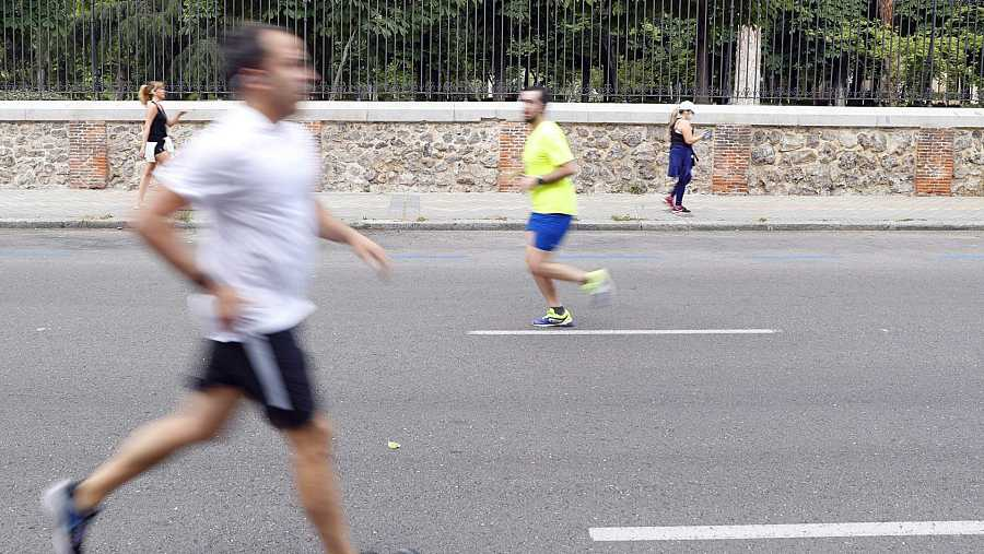 El deporte individual se permitirá en recintos al aire libre