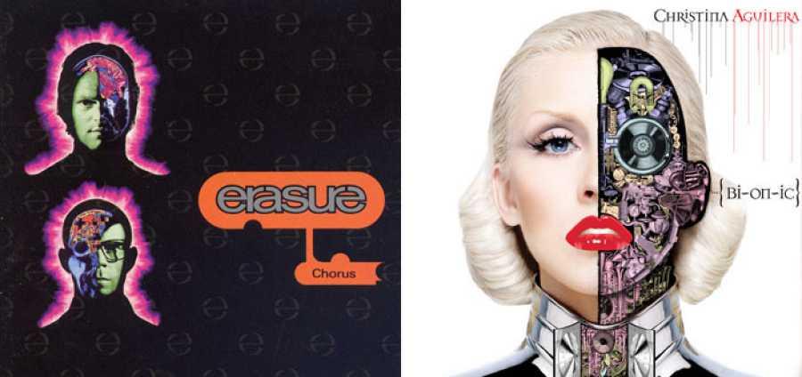 'Chorus', de Erasure (1991) frente a 'Bionic', de Christina Aguilera (2010)