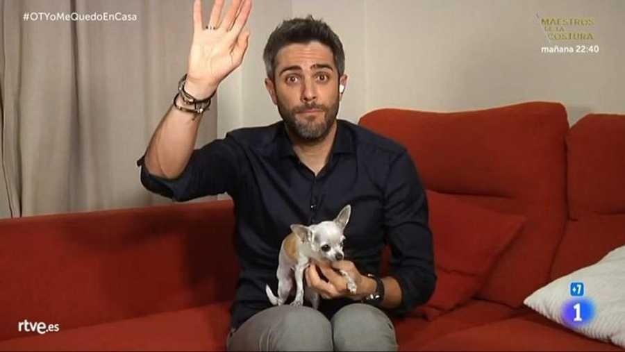 Roberto Leal nos presenta a su perrita Pepa