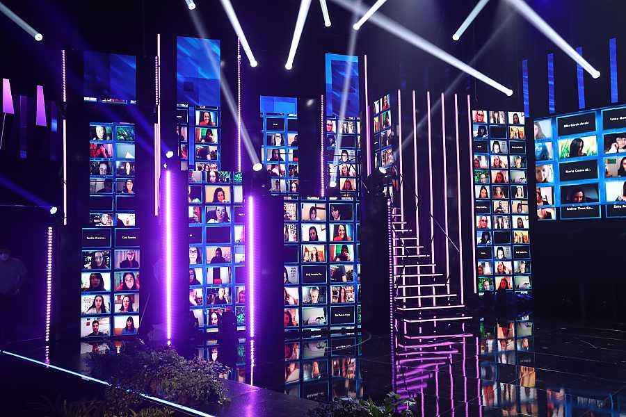 El público virtual de la Gala 10 desde sus casas: 400 personas