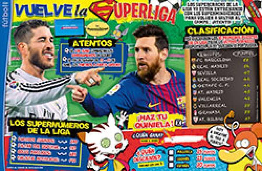 Revista Clan Mayo 2020 - Página La Liga