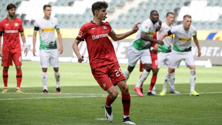 Imagen: Havertz lanza el penalti que supuso el 1-2