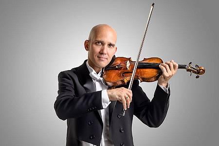 Miguel Borrego, concertino de la Orquesta Sinfónica y Coro RTVE