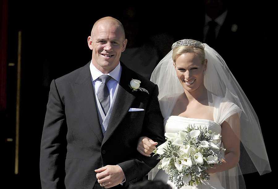 Zara Phillips y Mike Tindall celebraron su boda en Escocia