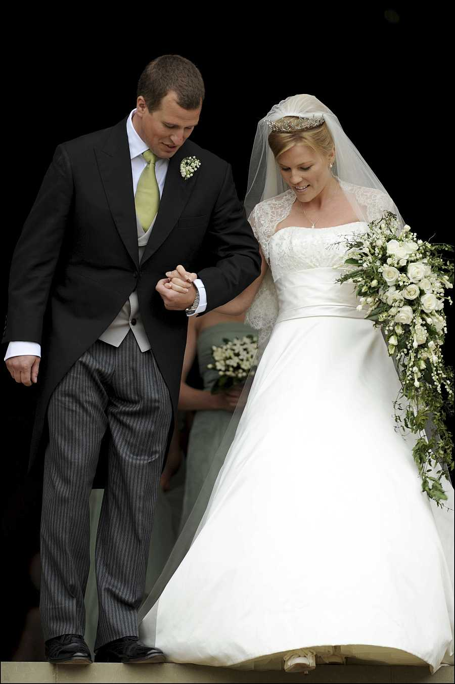 Boda real de Peter Phillips y Autumn Kelly, ahora divorciados