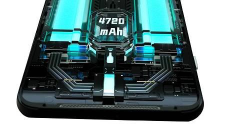 El Black Shark 3 tiene una batería de 4.720 mA dividida en dos módulos de 2.360 mA