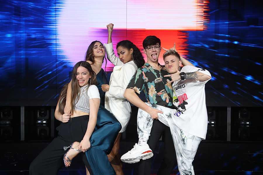 Eva, Anajú, Nia, Flavio y Samantha, los cinco finalistas de 'Operación Triunfo 2020'