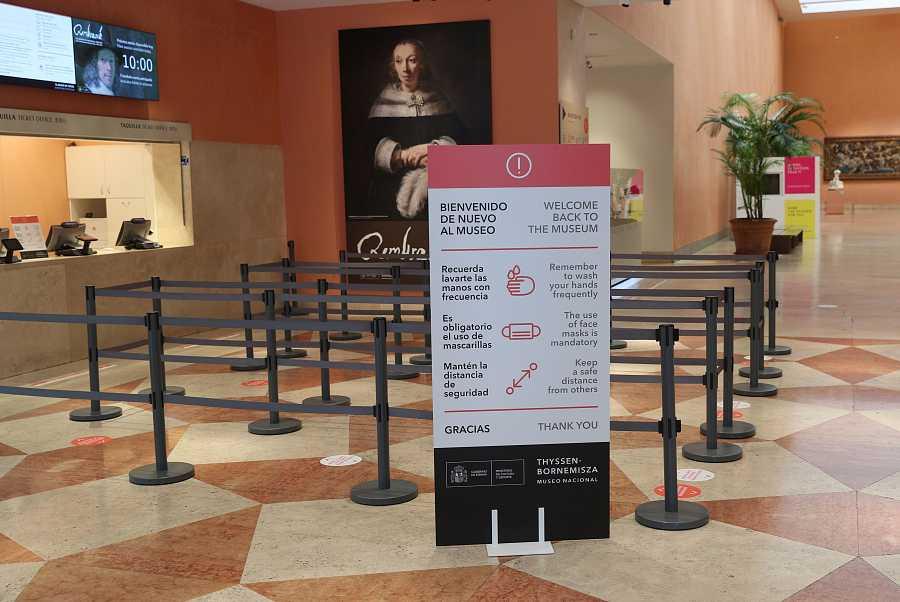 Los museos nacionales se preparan para la reapertura