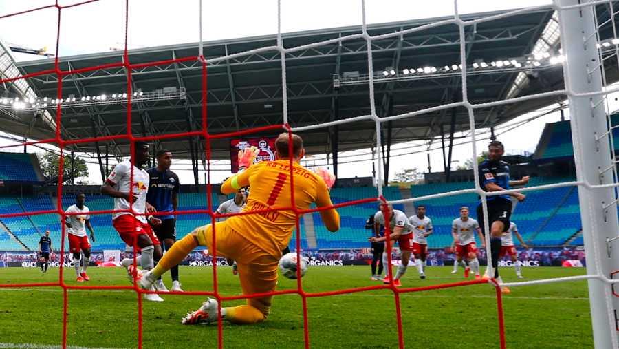 Imagen: El gol en el minuto 92 de Strohdiek para el Paderborn
