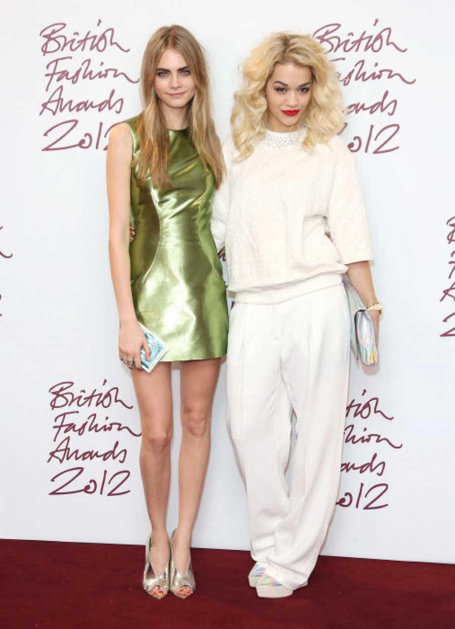 Cara Delevingne con Rita Ora