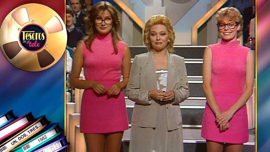 Mayra Gómez Kemp con las famosas azafatas