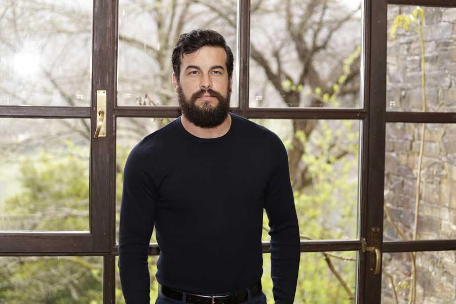 El actor Mario Casas durante la presentación del rodaje de la película