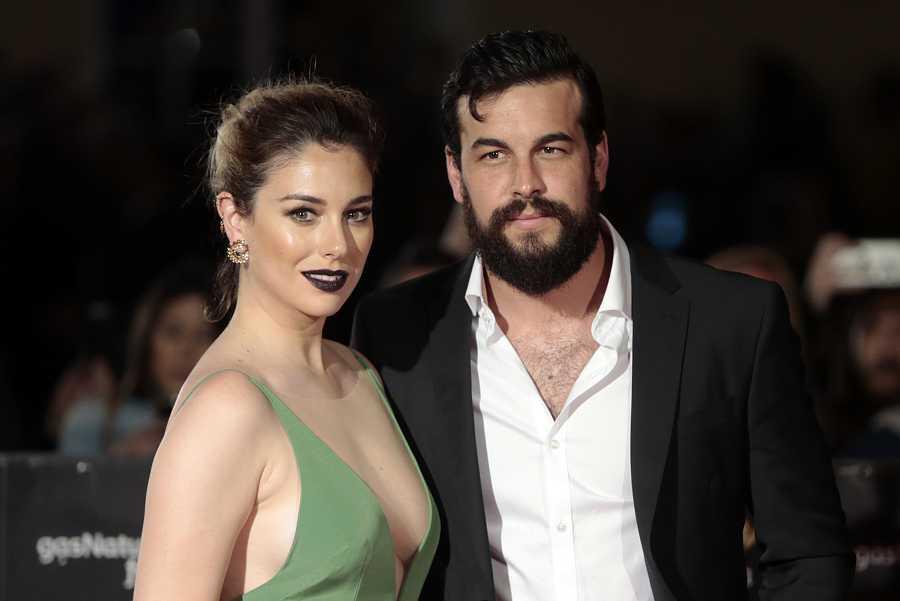 Blanca Suárez con Mario Casas en el Festival de Cine de Málaga