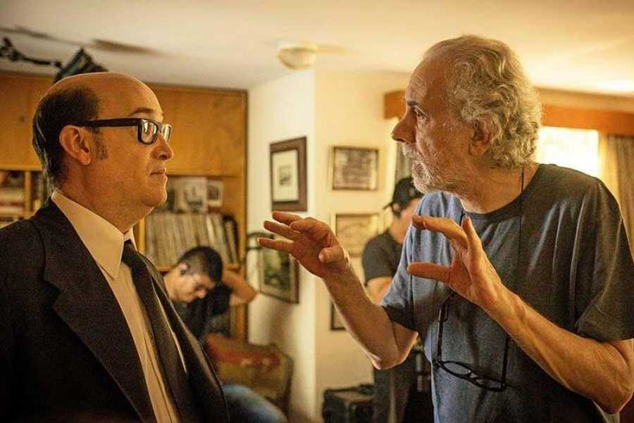 Javier Cámara y Fernando Trueba en 'El olvido que seremos'