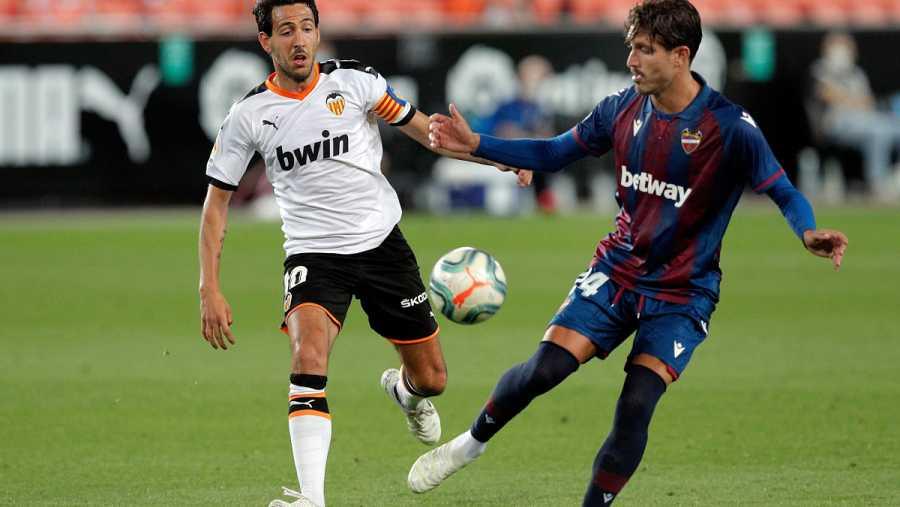 Imagen: Los conductores del juego de Valencia y Levante, Parejo (i) y Campaña (d)