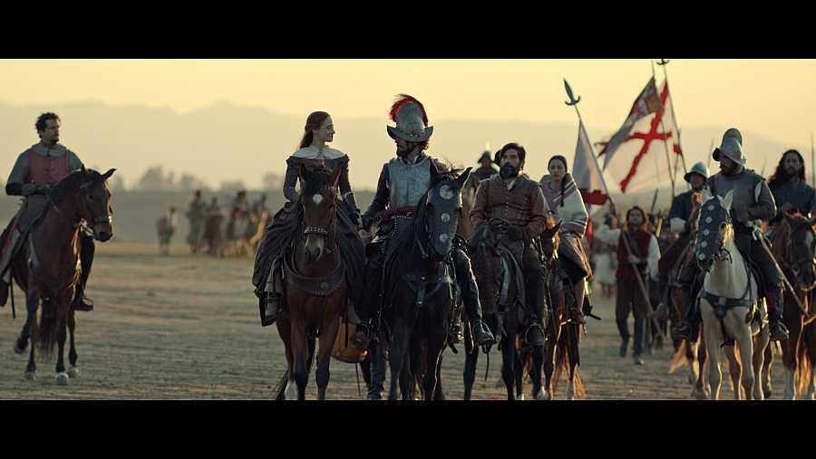 La serie se ha rodado en Chile, Perú, y Extremadura y Andalucía en España