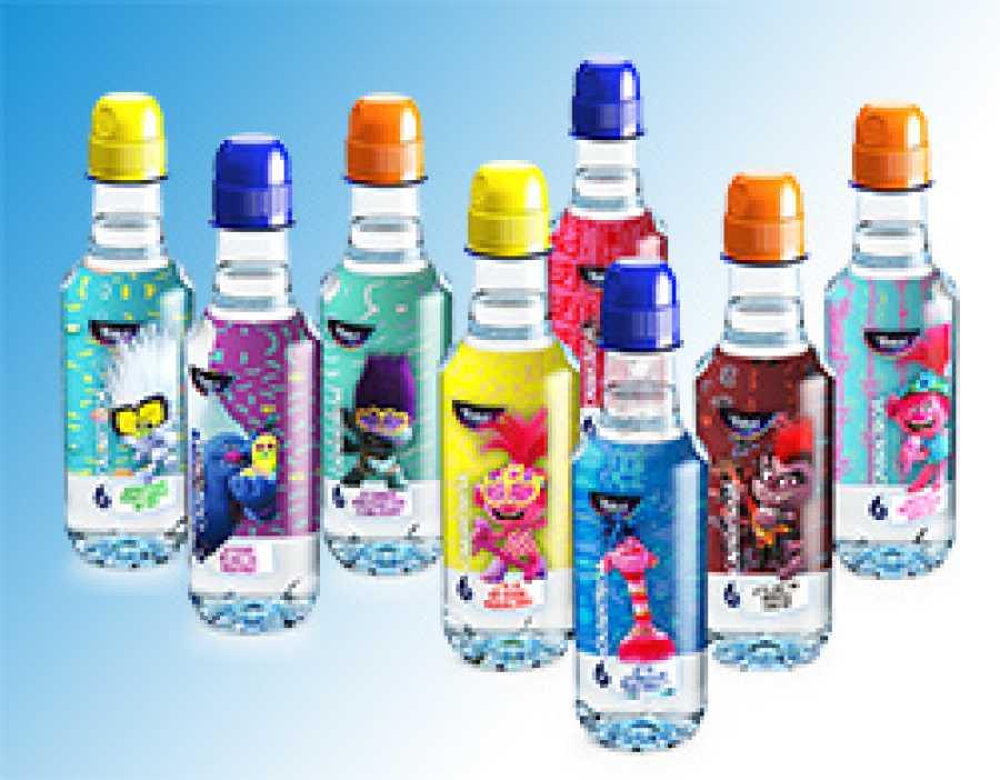 Revista Clan Junio 2020 - Regalo botella de agua de Trolls