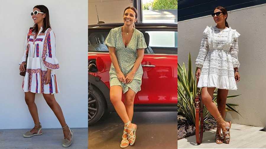 Los calzados de Paula Echevarría para la primavera-verano 2020