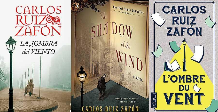 'La sombra del viento' ha sido traducida a más de 35 idiomas