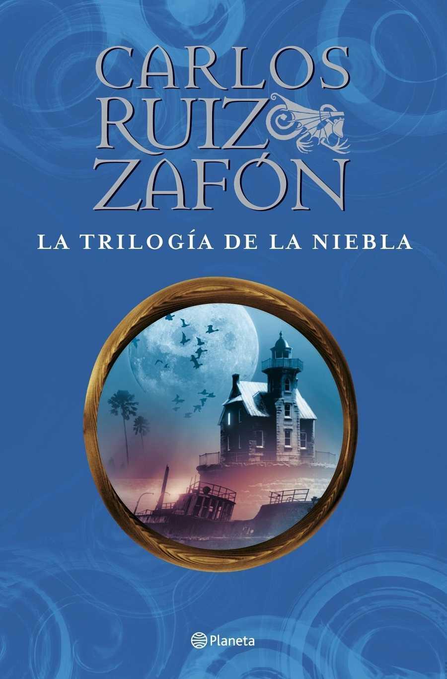 'El príncipe de la niebla', 'El palacio de la media noche' y 'Las luces de septiembre' están editadas por separado y reunidas en un único tomo, 'La trilogía de la niebla'