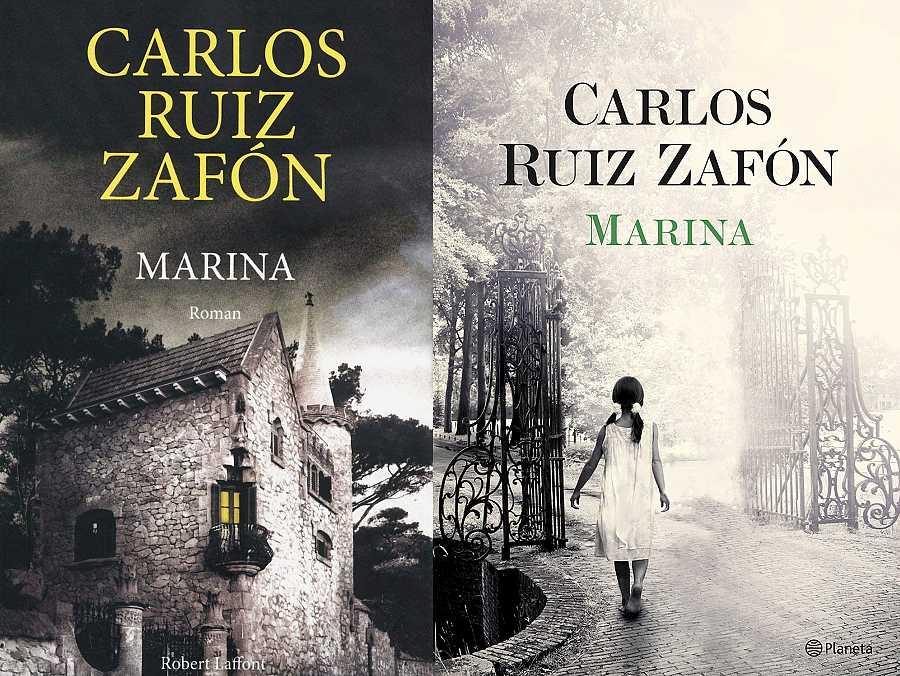 Las dos portadas de Marina, de Carlos Ruiz Zafón