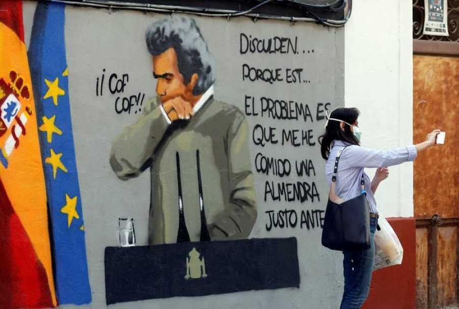 Grafiti Fernando Simón