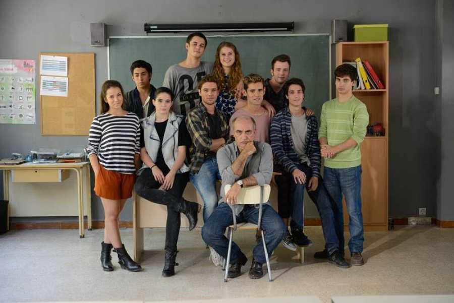 El elenco de 'Merlí', la ficción juvenil que llega a Playz