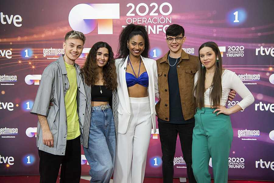 Los finalistas de 'OT 2020'