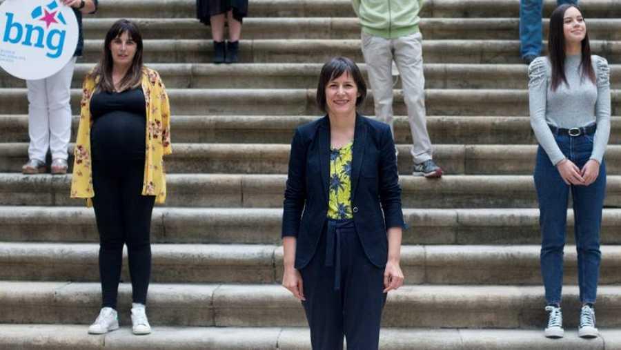 Ana Pontón, candidata del BNG a la presidencia de la Xunta de Galicia.
