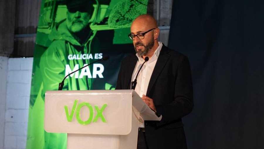 Ricardo Morado, candidato de Vox por A Coruña en las elecciones gallegas.