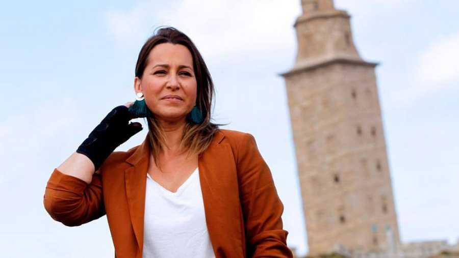 Beatriz Pino, candidata de Ciudadanos a la Xunta de Galicia.