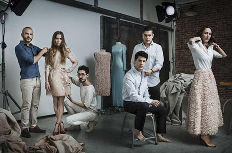 'Sólo química' cuenta con vestuario de Teresa Helbig, Ángel Schlesser, The 2nd Skin Co y Jorge Vázquez, entre otros