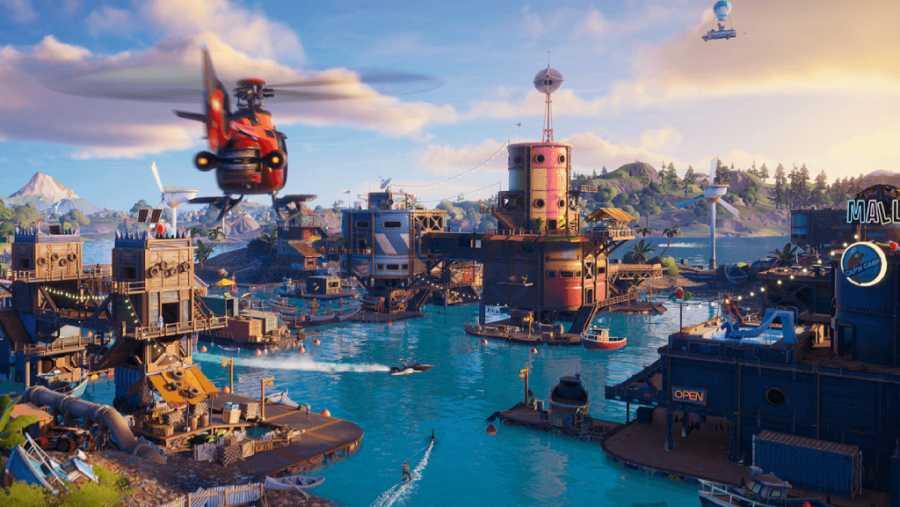 El nuevo mapa de Fortnite inunda gran parte de las localizaciones