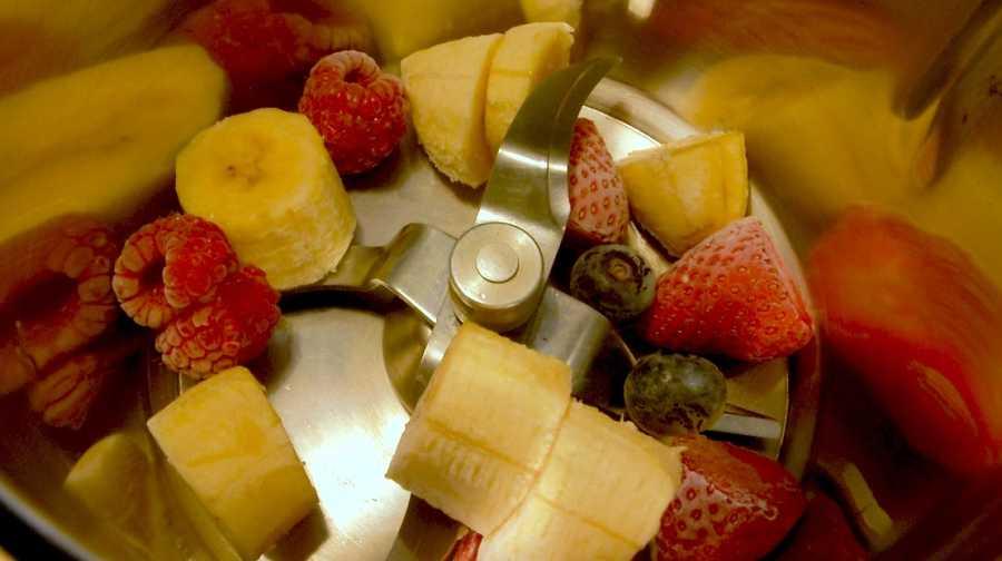 ¡Frutas para helado!